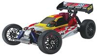 Thunder Tiger 6227-F101 1/8 4wd Off-road PRO Version Competition Buggy EB-4 S2.5 2.4GHz RTR Red